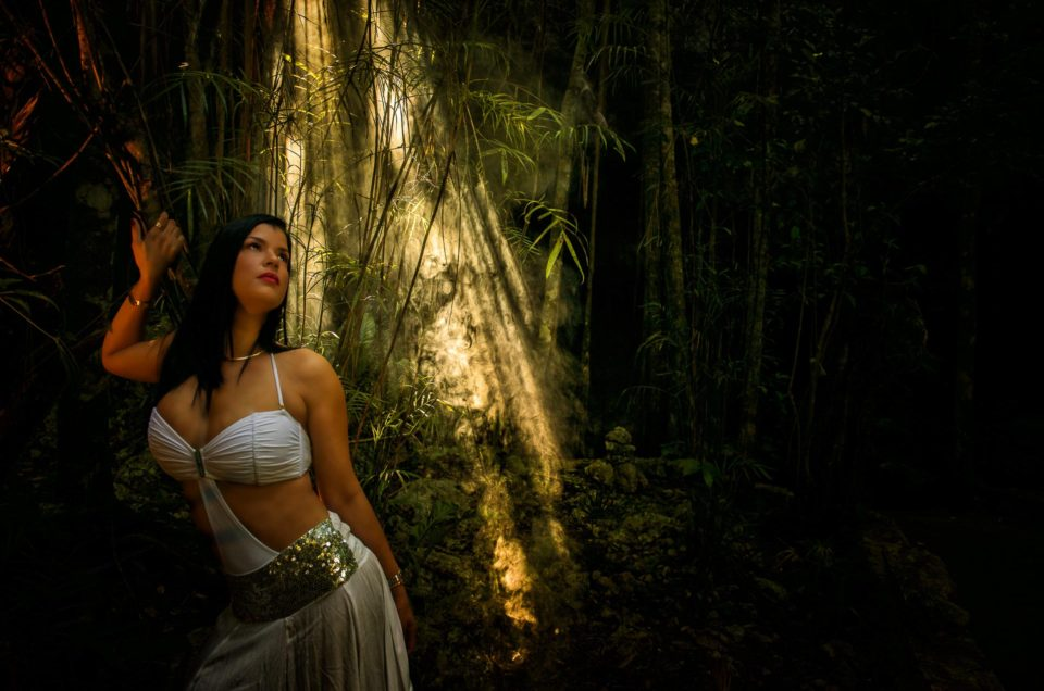 Cenote Photo Session - Kenny - Cuban Beauty