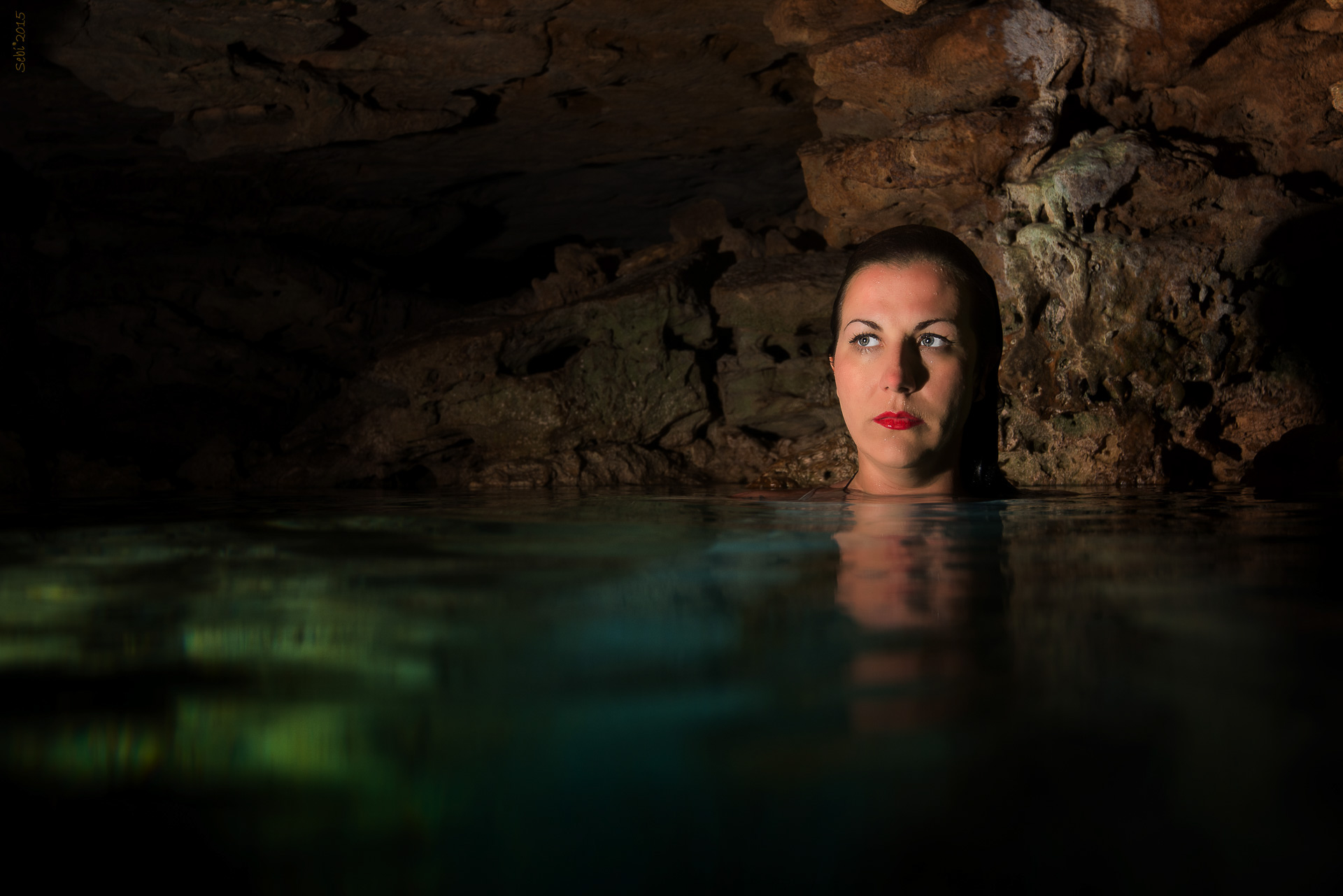 Underwater Modelling Photography Cenote Mexico