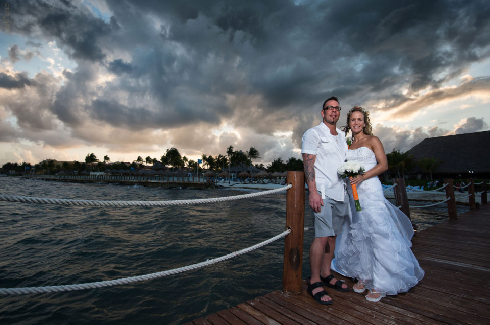 Playa del Carmen Getting married – Lisa and Jeremy