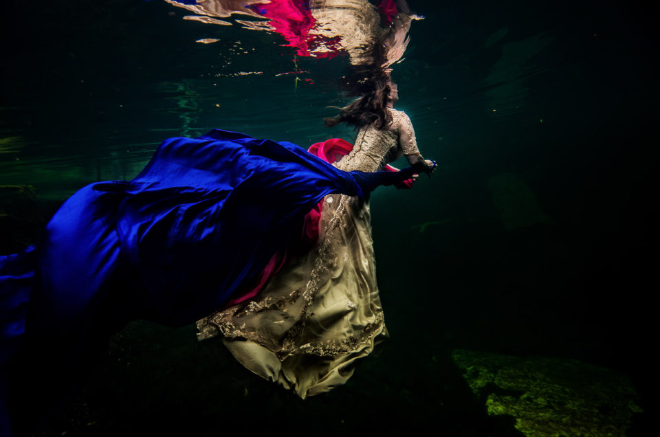 After Wedding underwater photos  – Ann and Eric