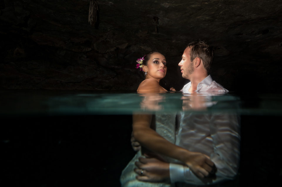 Underwater Session - Claudia and Ken