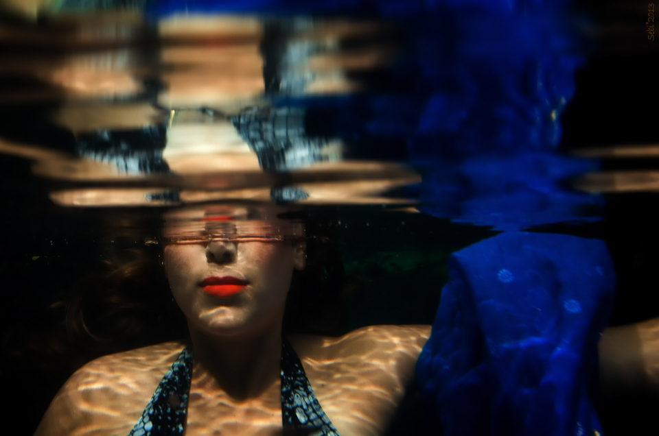 Underwater Model - Cenote Ke-Boláh - Kira - Lebanon