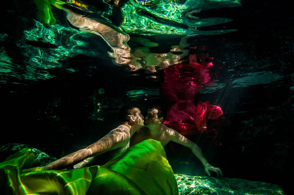 Same Sex Underwater Photo Shoot – Jesse and Robert