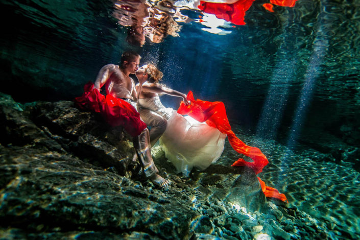 Trash The Dress Underwater