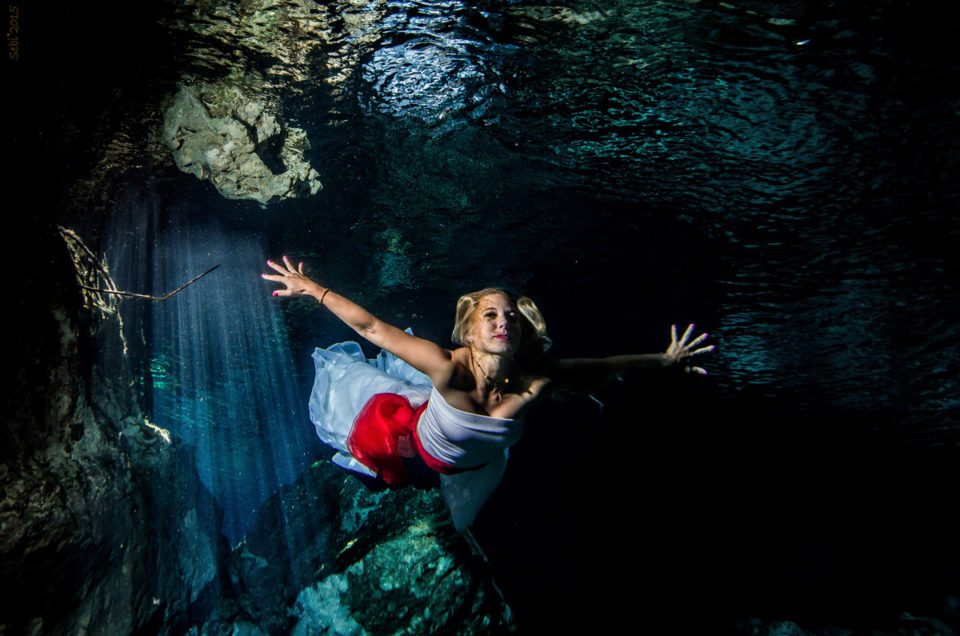 Underwater model Photography – Anna