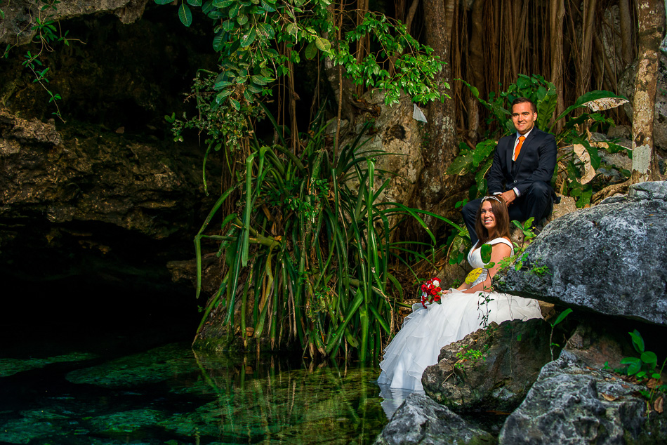 Unusual Wedding Pictures – Sebi Messina Photography - Mexico